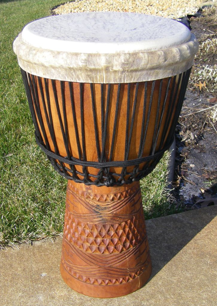 West African Mali Djembe Drum